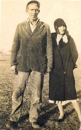 Winnie & unknown man