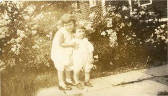 Lorraine and Sonny Lucas abt 1929