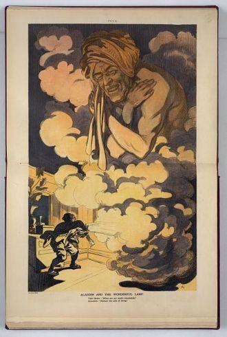 Aladdin and the wonderful lamp / K.