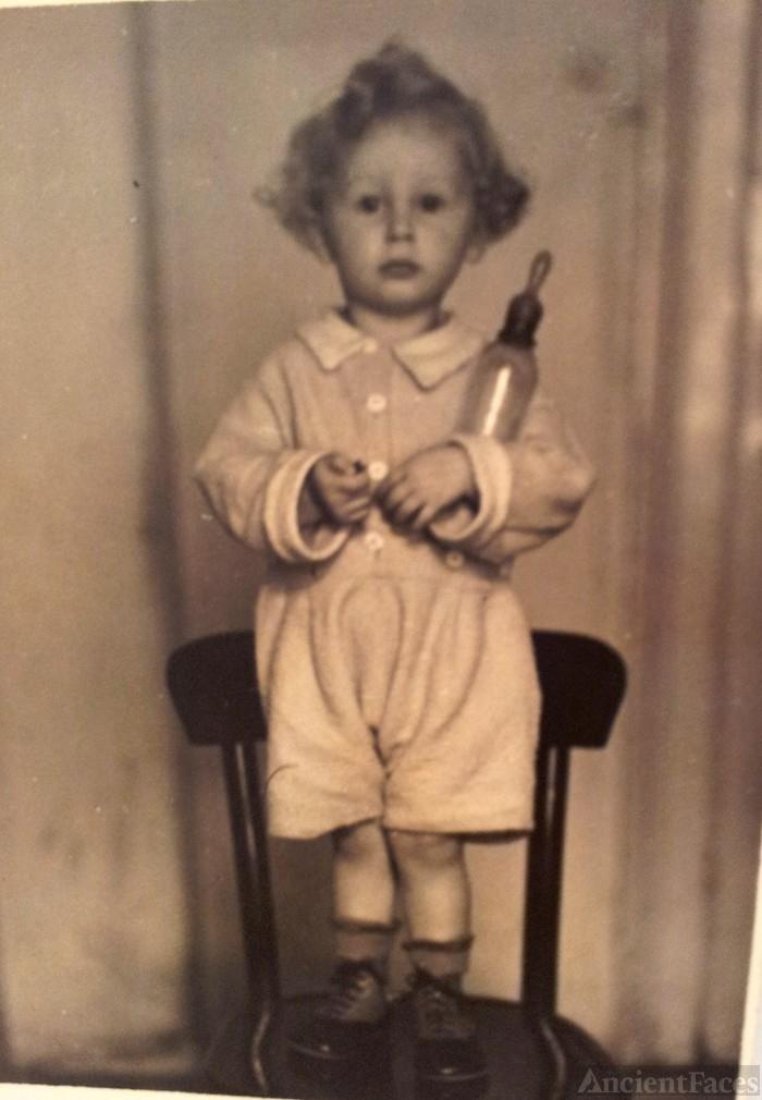 Pauli Benger circa 1941