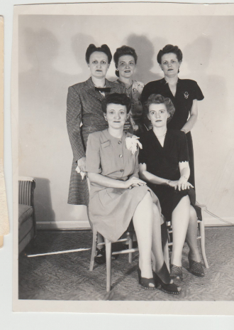 Helzer Sisters - Pauline, Bertha, Ann, Esther, and Emma