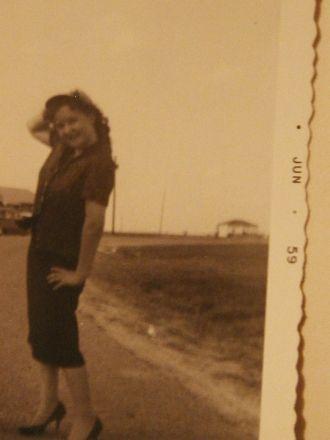 Osborne, Mariam Joan at the beach