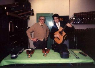 Mario Maccaferri guitar builder