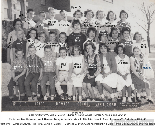 Bemiss Elementary School, Washington