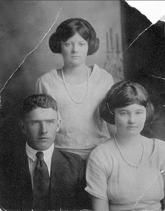 Hoyt and Dessie Corbin, 1920 Georgia