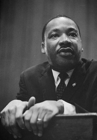 Civil Rights Leader Martin Luther King Jr