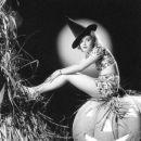 Nan Grey as a Witch - Halloween