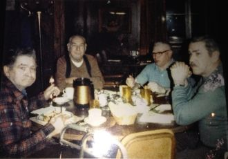 Kenneth Cowles and brothers