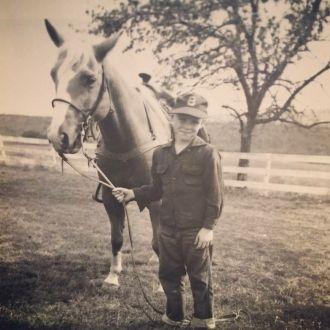 Reimann boy and horse