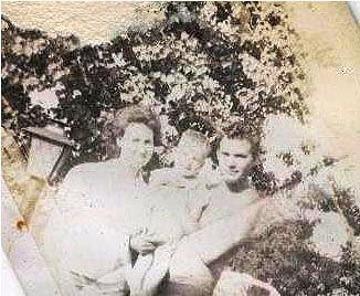 Elaine Kennedy, Douglas Weaver and Charles Kennedy Sr.