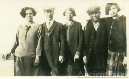 Frank, Theodore, & Sandalia(Degado) Heidke, California 1926