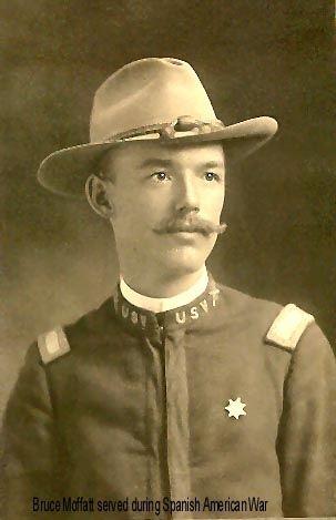 Bruce Moffatt during Spanish American War