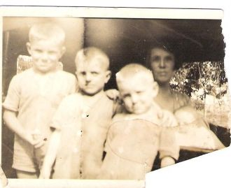Joseph Felix Stout's sons and wife