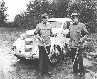 George Lawrence Benning, hunting