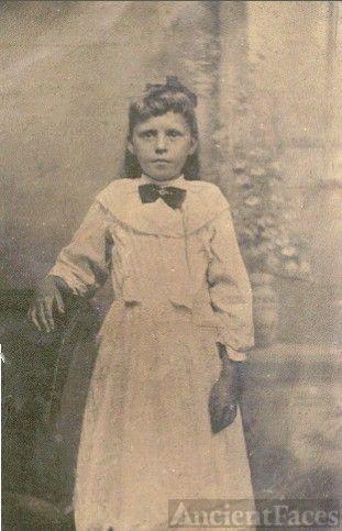 Eliza Elvira Long = age about 14