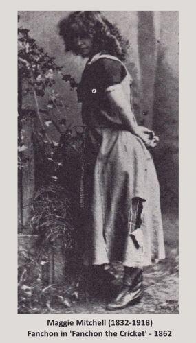 Maggie Mitchell 1862
