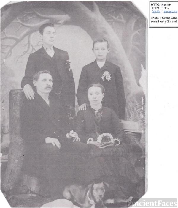 John Edward Otto Sr. Family