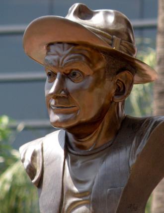Art Carney Statue