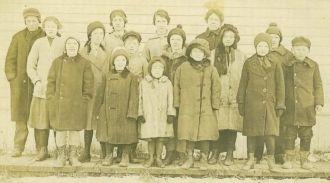 Kerwin School, Douglas County, Wisconsin