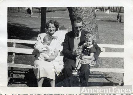Mr. & Mrs. Loyce Holcomb and grandkids