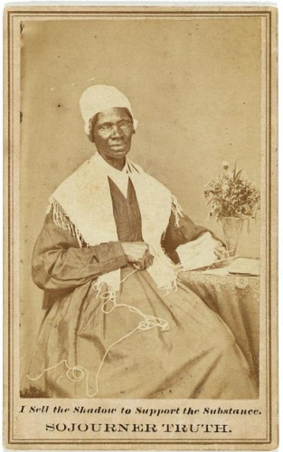 A photo of Sojourner Truth