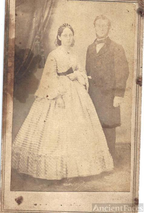 Sarah Ada Clutter and husband, John Norris