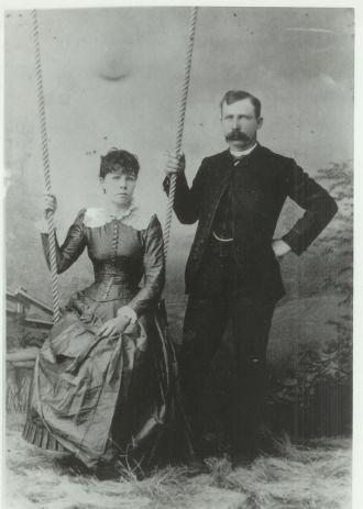 John Wesley Poe and Julia Alford Poe