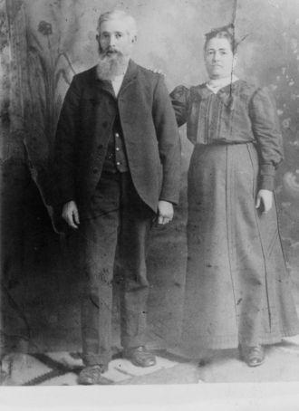 James Herny & Mary E. Carter Isbell