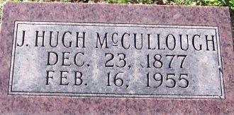 J Hugh McCullough