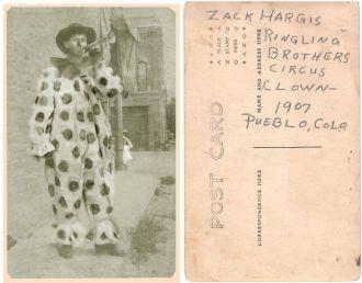 Zachariah Thomas Mackey Hargis, Clown