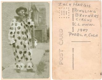 Zachariah Thomas Mackey Hargis, Clown