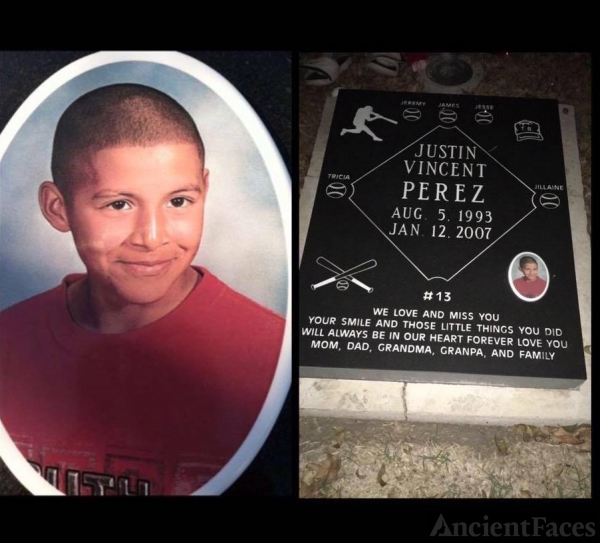 Justin Vincent Perez gravesite