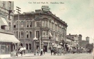 Hamilton, Ohio circa 1900