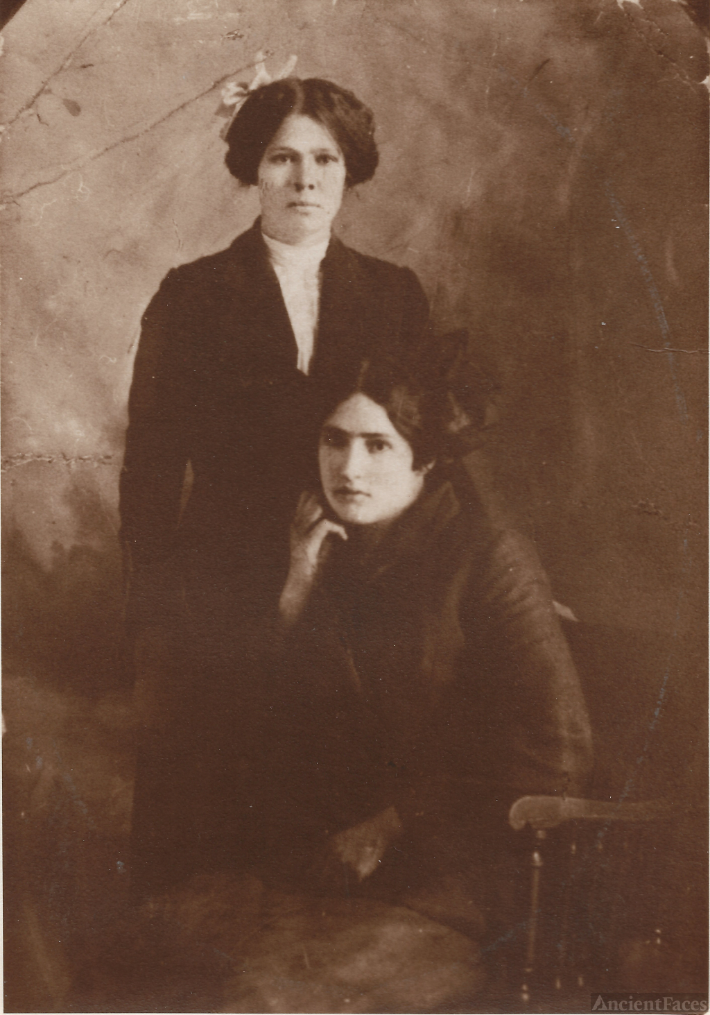 Two Young Ladies - Hungarian or Croatian