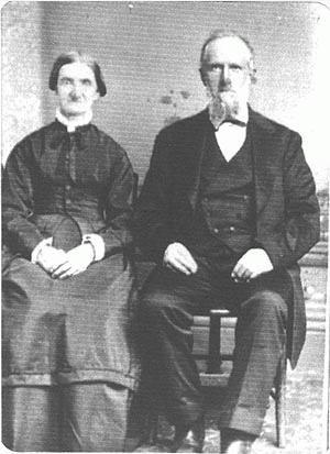 Rev Joseph and Mary Ann Brown Ward