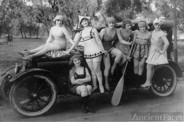 Mack Sennett's Bathing Beauties 1919