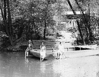 Bathing, Rock Creek Park