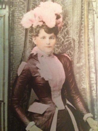 Alice Octavia (Powers) Higginbotham, color
