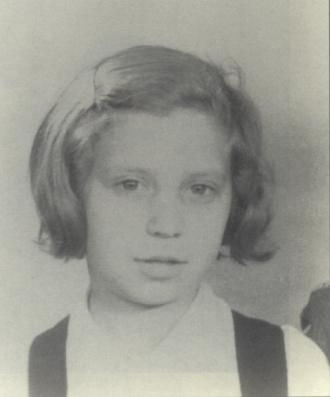 A photo of Paulette Grynszpan
