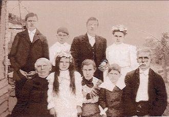 E.C.(Gabe) McAdams family
