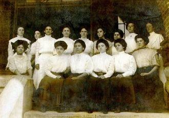 Irene Sanders, Cherokee National Female Seminary, OK
