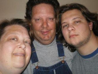 Lisa, Tommy n son Jeffrey