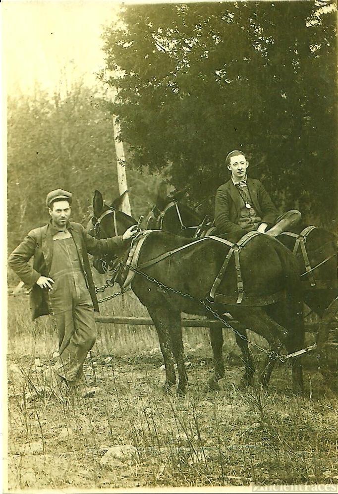 Willie Kirby & Raymond Short, Tennessee 1917