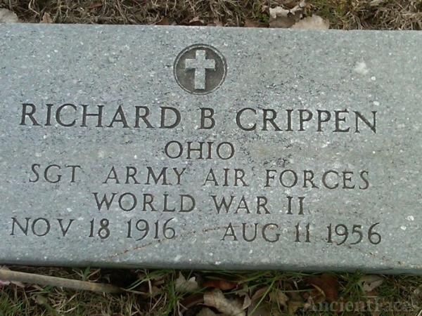 Richard B Crippen gravesite