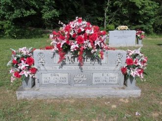 Oma Smithers gravesite