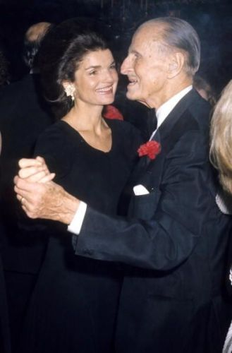 Serge Obolensky and Jackie Kennedy