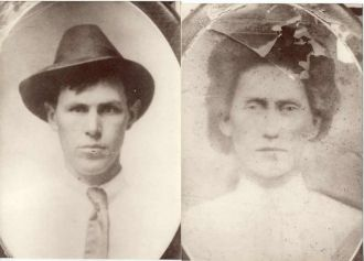 Grampa Lee Risner & wife Polly Risner