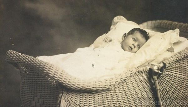 Jean Holmberg, adopted 3 weeks