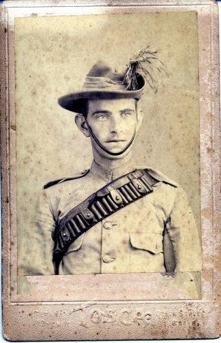 Walter Ingram Fisher - Boer War uniform