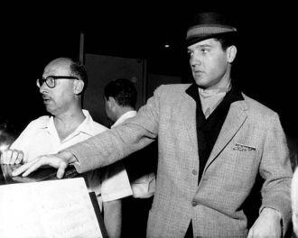 Sammy Cahn and Elvis Presley